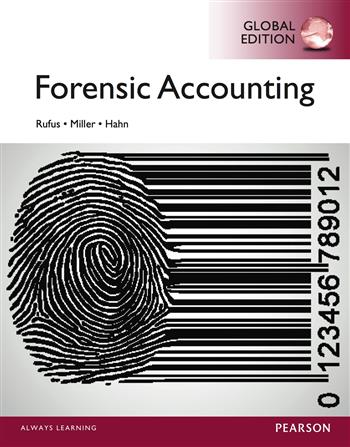 9781292071442 - Forensic Accounting, Global Edition