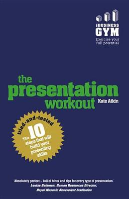 9781292076720 - The Presentation Workout
