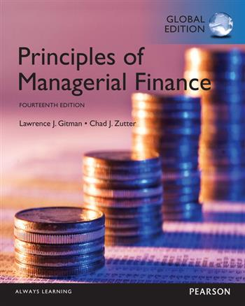 9781292078243 - Principles of Managerial Finance, Global Edition