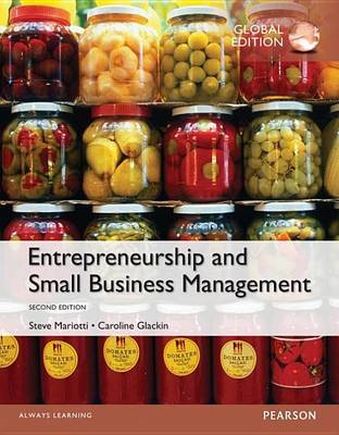 9781292078687 - Entrepreneurship and Small Business Management, Global Edition