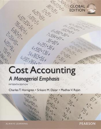 9781292079080 - Cost Accounting with Myaccountinglab, Global Edition