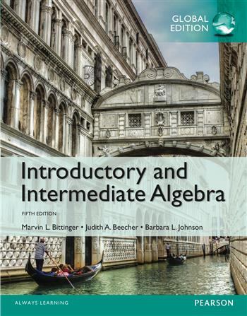 9781292080017 - Introductory and Intermediate Algebra, Global Edition