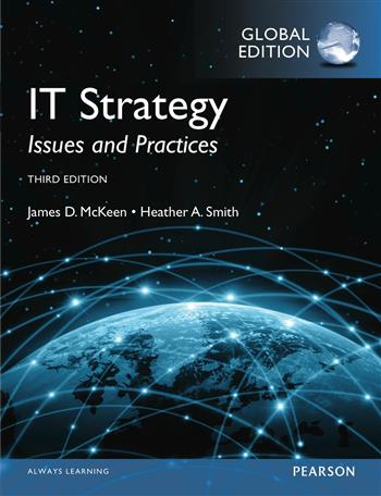 9781292080277 - IT Strategy: Issues and Practices, Global Edition