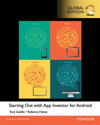 9781292080338 - Starting Out With App Inventor for Android, Global Edition