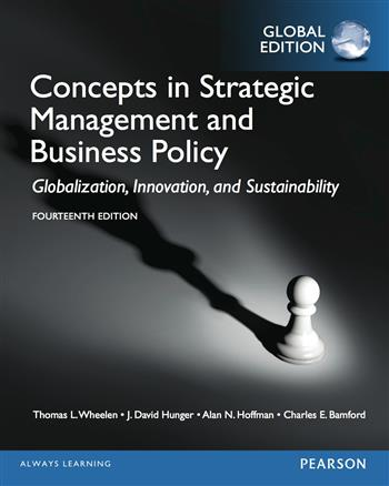 9781292080901 - Concepts in Strategic Management and Business Policy, Global Edition
