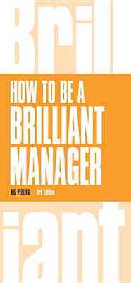 9781292084268 - How to be a Brilliant Manager
