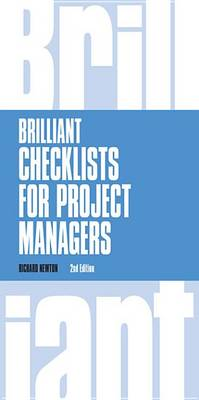 9781292084602 - Brilliant Checklists for Project Managers revised 2nd edn