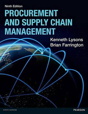 9781292086149 - Procurement and Supply Chain Management