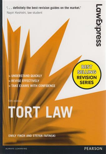 9781292086880 - Law Express: Tort Law