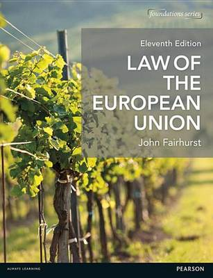 9781292090351 - Law of the European Union