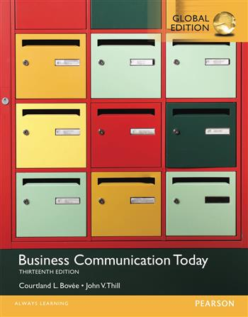 9781292099958 - Business Communication Today, Global Edition