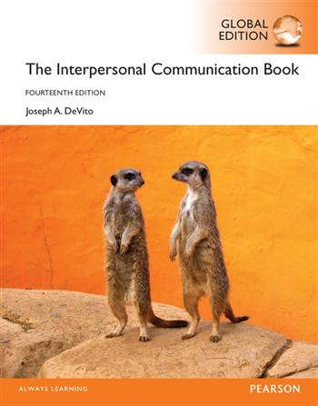 9781292100050 - The Interpersonal Communication Book, Global Edition