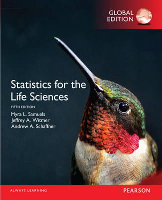 9781292101811 - Statistics for the Life Sciences