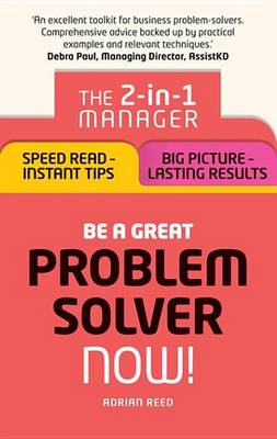 9781292119649 - Be a Great Problem Solver Ð Now!