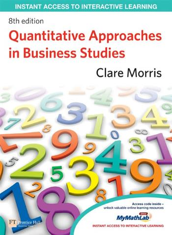 9781292122595 - Quantitative Approaches in Business Studies