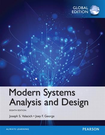 9781292154152 - Modern Systems Analysis and Design, Global Edition