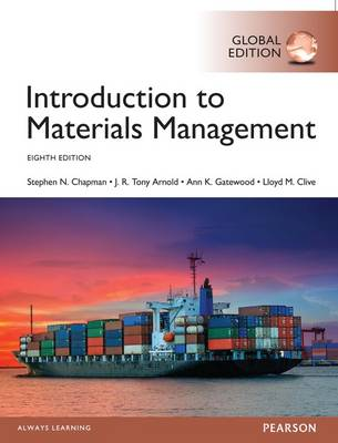 9781292162355 - Introduction to Materials Management, Global Edition