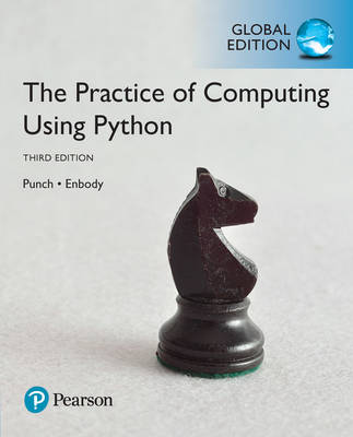 9781292166629 - The Practice of Computing Using Python, Global Edition