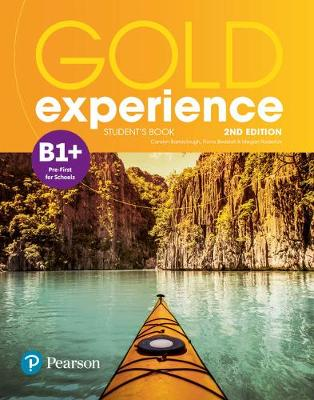 9781292194660 - Gold experience B1+ student's book