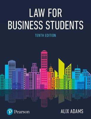 9781292208428 - Adams: Law for Business Students p10