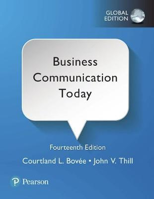 9781292215341 - Business Communication Today, Global Edition