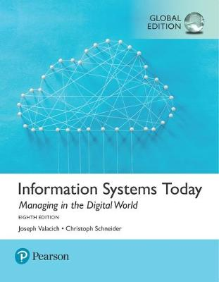 9781292215976 - Information Systems Today: Managing the Digital World, Global Edition