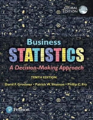 9781292220383 - Business Statistics, Global Edition