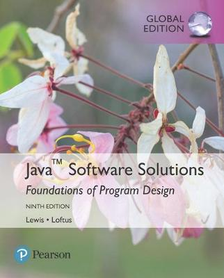 9781292221724 - Java Software Solutions, Global Edition
