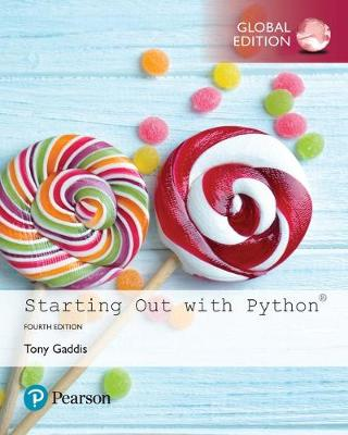 9781292225753 - Starting Out with Python, Global Edition