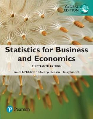 9781292227085 - Statistics for Business and Economics,