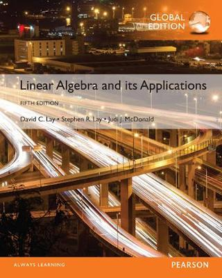 9781292243610 - Linear Algebra and Its Applications plus Pearson MyLab Mathematics with Pearson eText