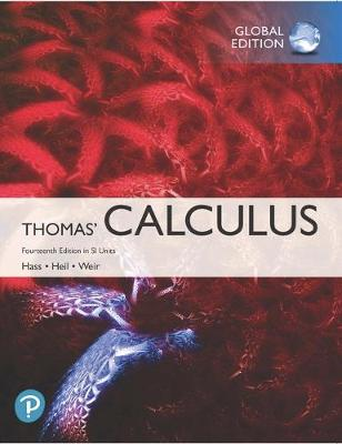 9781292253220 - Thomas' Calculus in SI Units