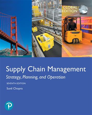 9781292257914 - Supply Chain Management: Strategy, Planning, and Operation, Global Edition