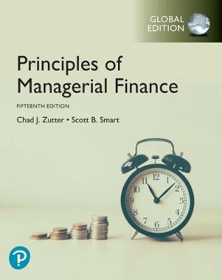 9781292261614 - Principles of Managerial Finance plus MyLab, Global Edition