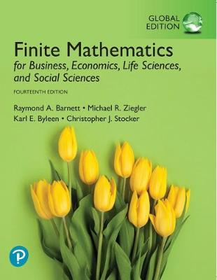 9781292264202 - Finite Mathematics for Business, Economics, Life Sciences, and Social Sc iences, Global Edition