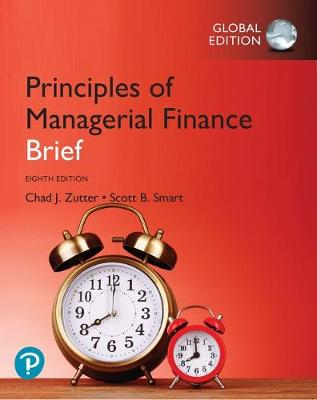 9781292267142 - Principles of Managerial Finance, Brief, Global Edition