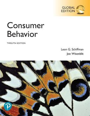9781292269245 - Consumer Behavior, Global Edition