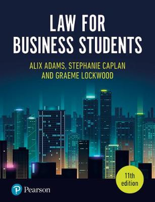 9781292272245 - Law for Business Students