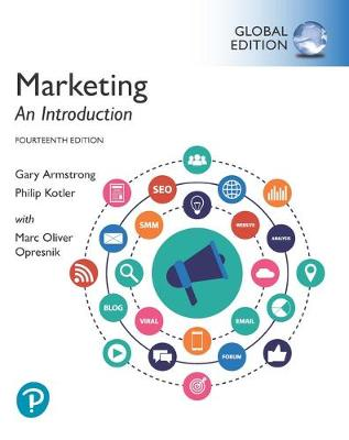 9781292294995 - Marketing: An Introduction plus Pearson MyLab Marketing with Pearson eText, Global Edition
