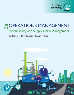 9781292295176 - Operations Management: Sustainability and Supply Chain Management plus Pearson MyLab Operations Management with Pearson eText, Global Edition