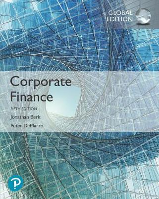 9781292304281 - Corporate Finance plus Pearson MyLab Finance with Pearson eText