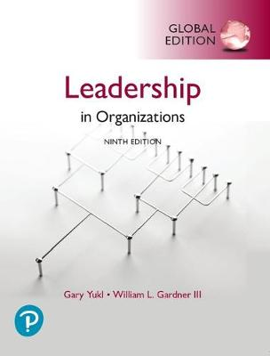 9781292314402 - Leadership in Organizations, Global Edition