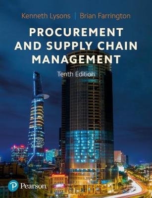 9781292317915 - Procurement and Supply Chain Management