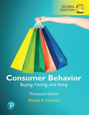 9781292318103 - Consumer Behavior Buying, Having, and Being, Global Edition