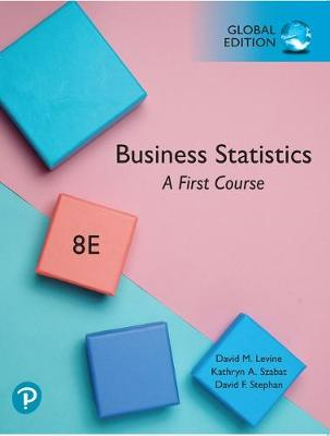 9781292320496 - Business Statistics: A First Course plus Pearson MyLab Statistics with Pearson eText, Global Edition