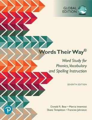 9781292325231 - Words Their Way: Word Study for Phonics, Vocabulary, and Spelling Instruction, Global Edition