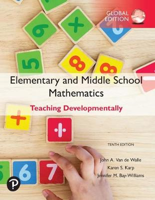 9781292331393 - Elementary and Middle School Mathematics: Teaching Developmentally, Glob