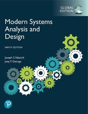 9781292351629 - Modern Systems Analysis and Design, Global Edition
