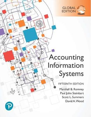 9781292353364 - Accounting Information Systems, Global Edition