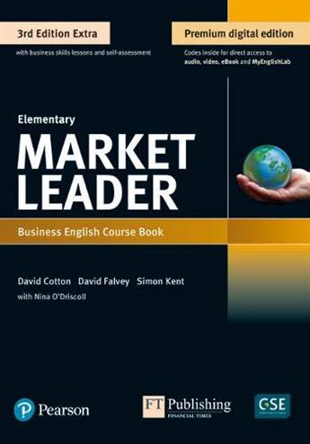 9781292361116 - Market Leader 3e Extra Elementary Course Book, eBook, QR, MEL & DVD Pack